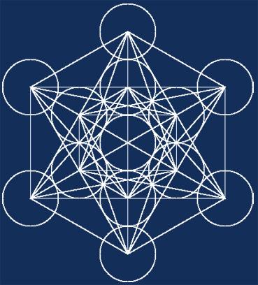 Risultati immagini per cubo di metatron